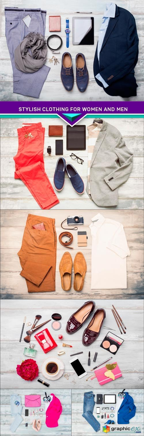Stylish clothing for women and men 6X JPEG