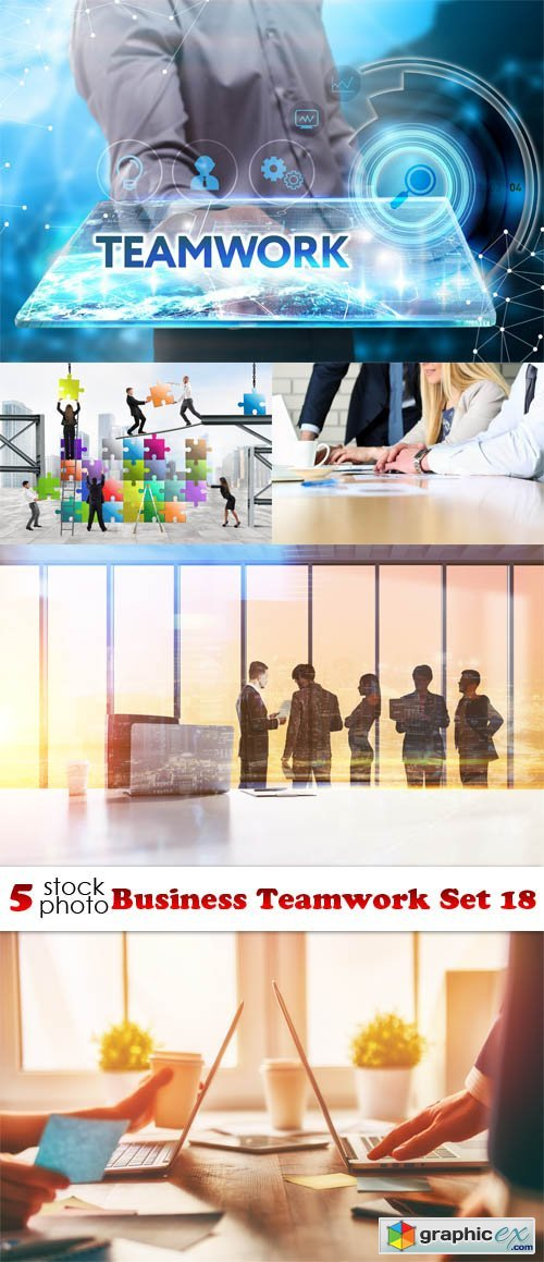 Business Teamwork Set 18