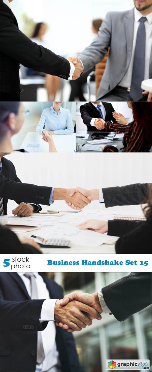 Business Handshake Set 15