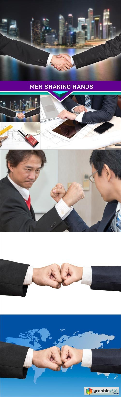 Men shaking hands, businessman 6X JPEG