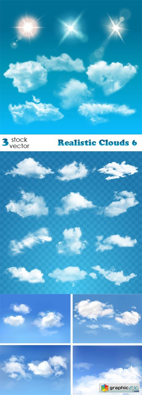 Realistic Clouds 6