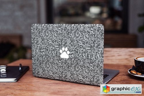 MacBook Skin Mock-Up