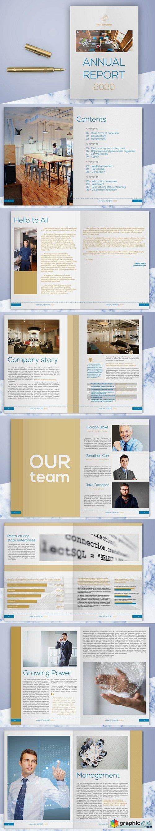 Gold and Blue Company Profile