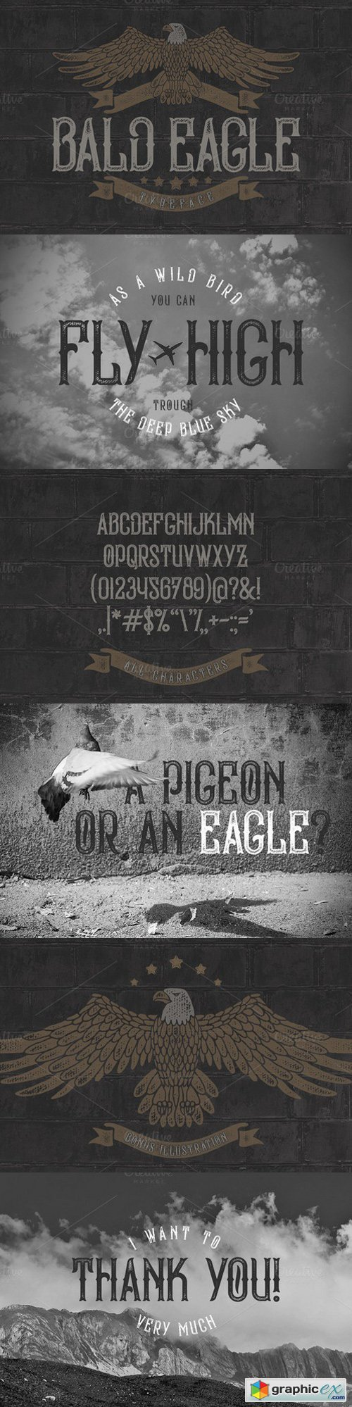 Bald Eagle Typeface