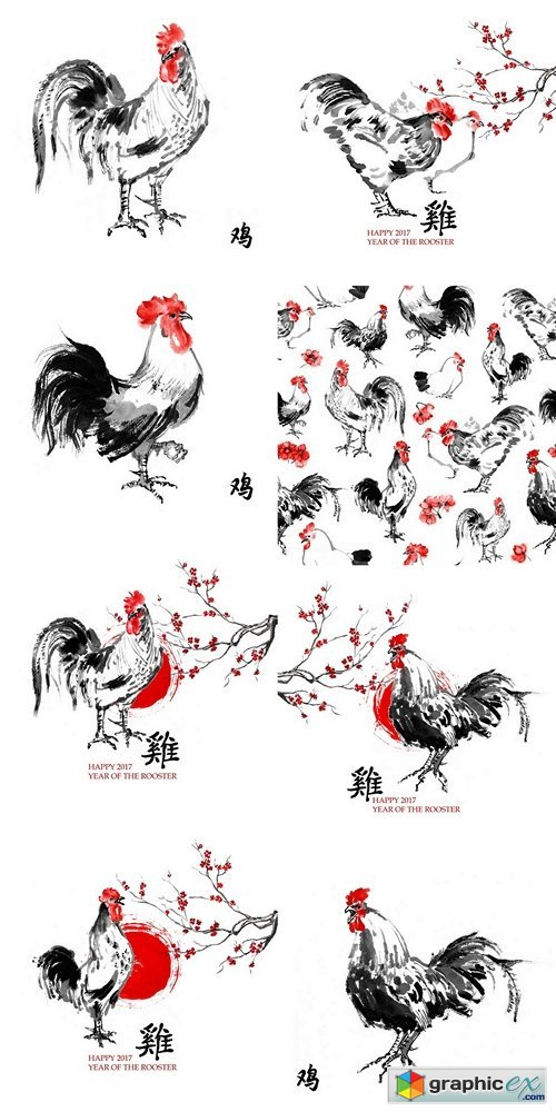Year of the rooster 2