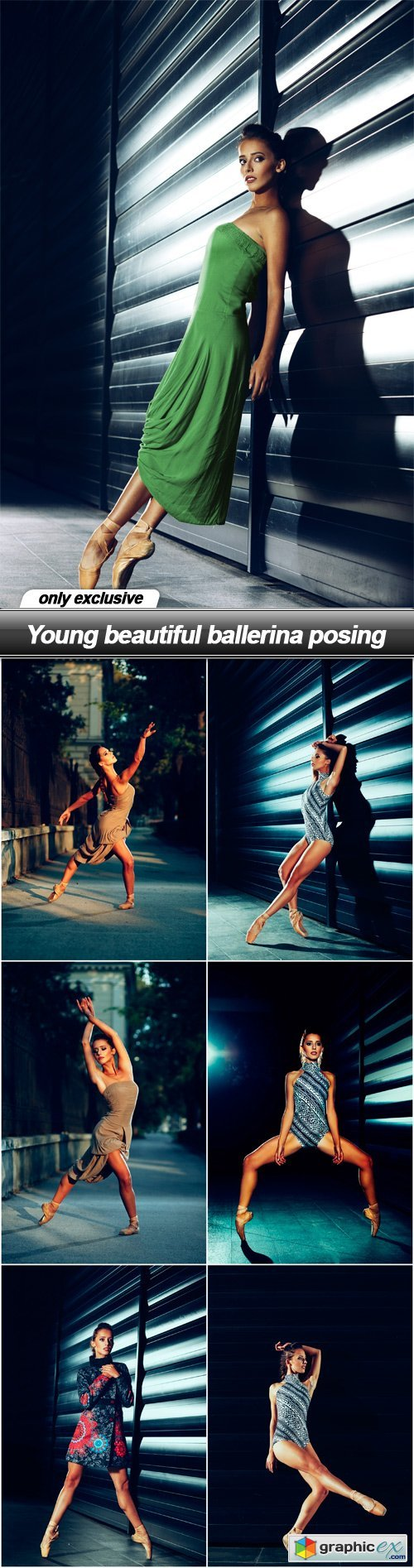 Young beautiful ballerina posing - 7 UHQ JPEG
