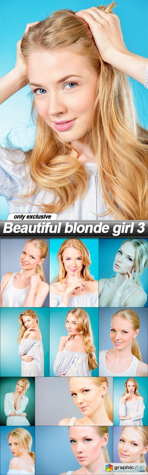Beautiful blonde girl 3 - 13 UHQ JPEG