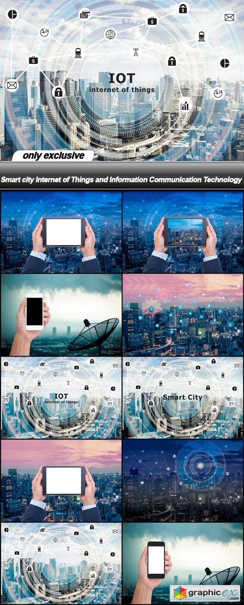 Smart city Internet of Things and Information Communication Technology - 10 UHQ JPEG