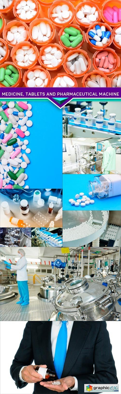 Medicine, tablets and pharmaceutical machine 11X JPEG