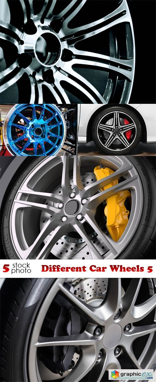 Different Car Wheels 5