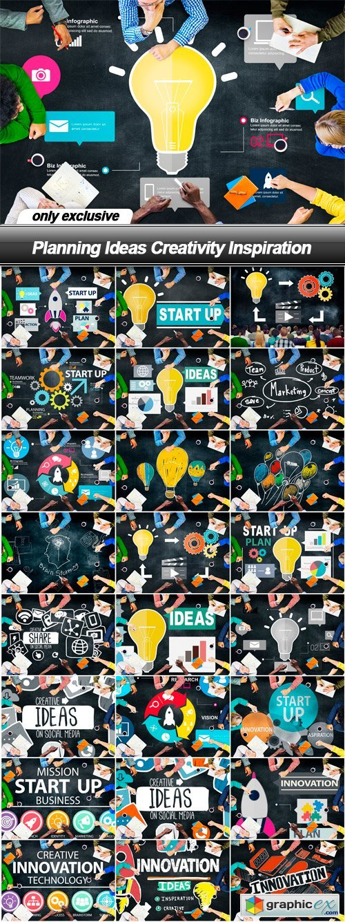 Planning Ideas Creativity Inspiration - 25 UHQ JPEG
