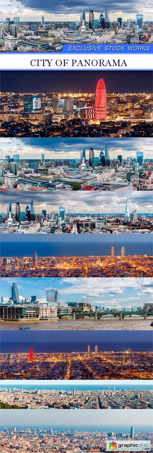 City of Panorama 8x JPEG