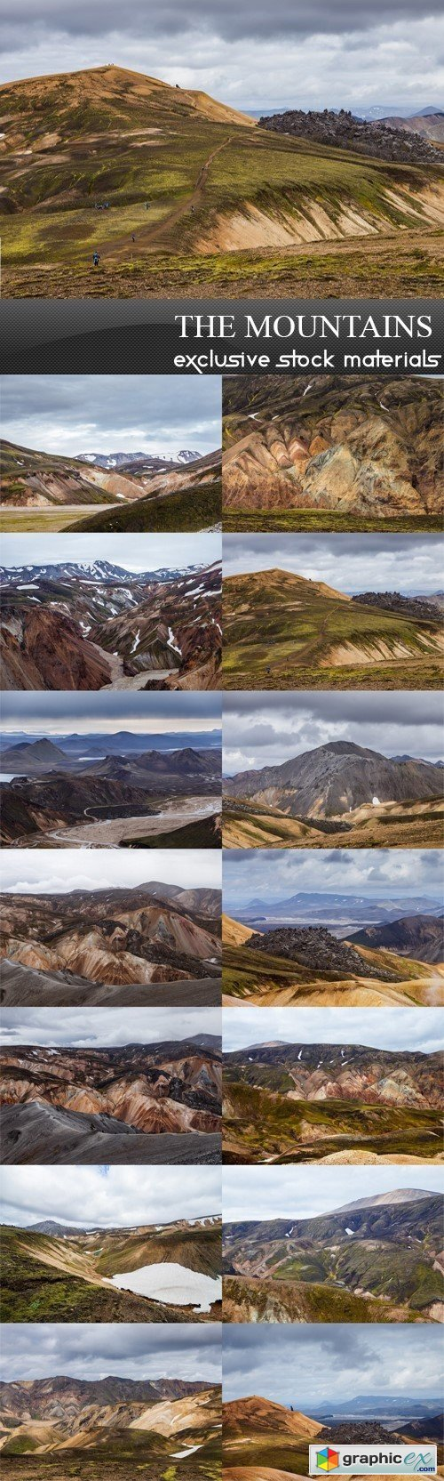 The Mountains Images - 14 UHQ JPEG