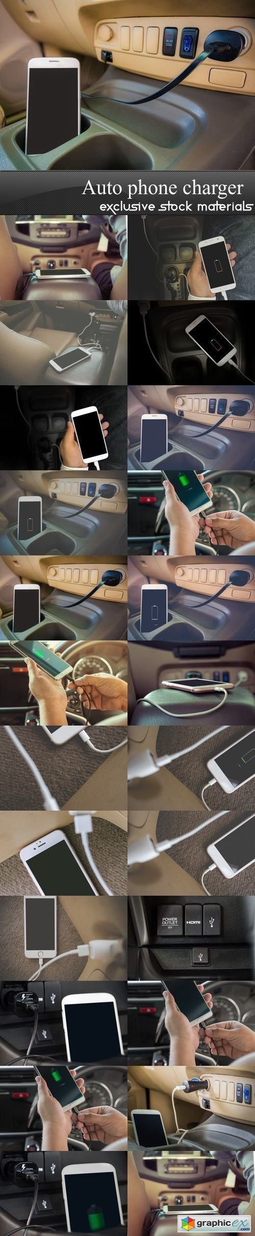 Auto phone charger - 24 UHQ JPEG