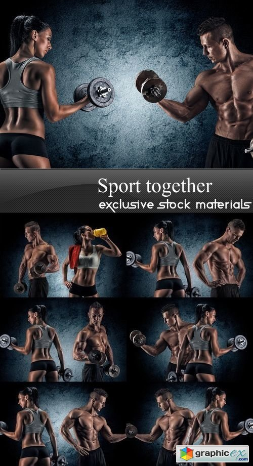 Sport together - 7 UHQ JPEG