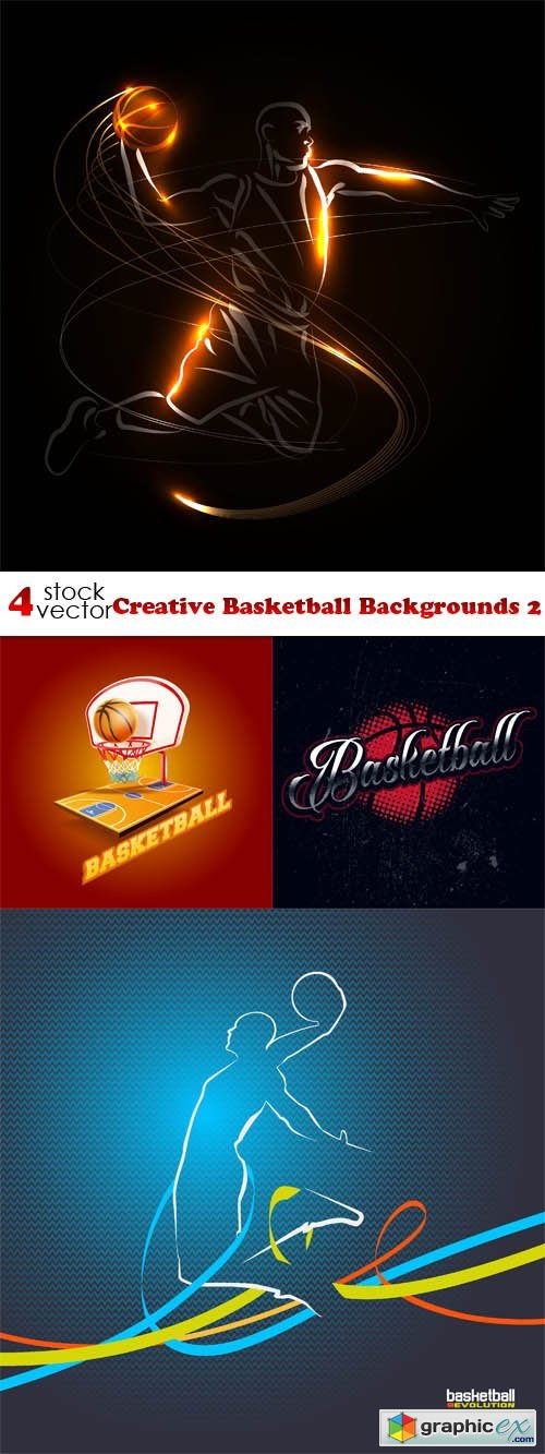 Creative Basketball Backgrounds 2