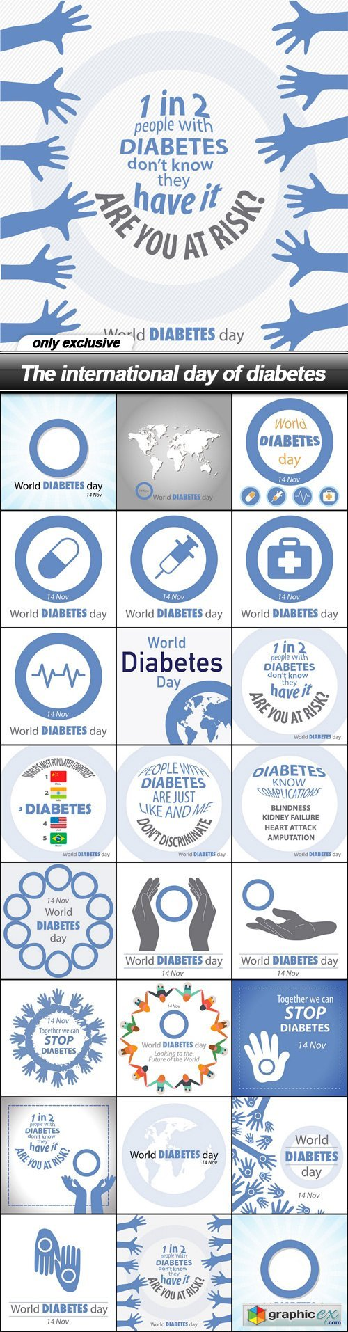 The international day of diabetes - 23 EPS