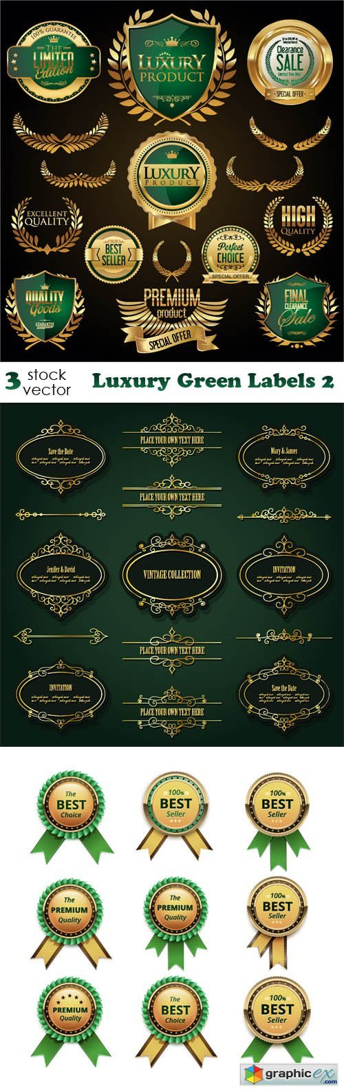 Luxury Green Labels 2