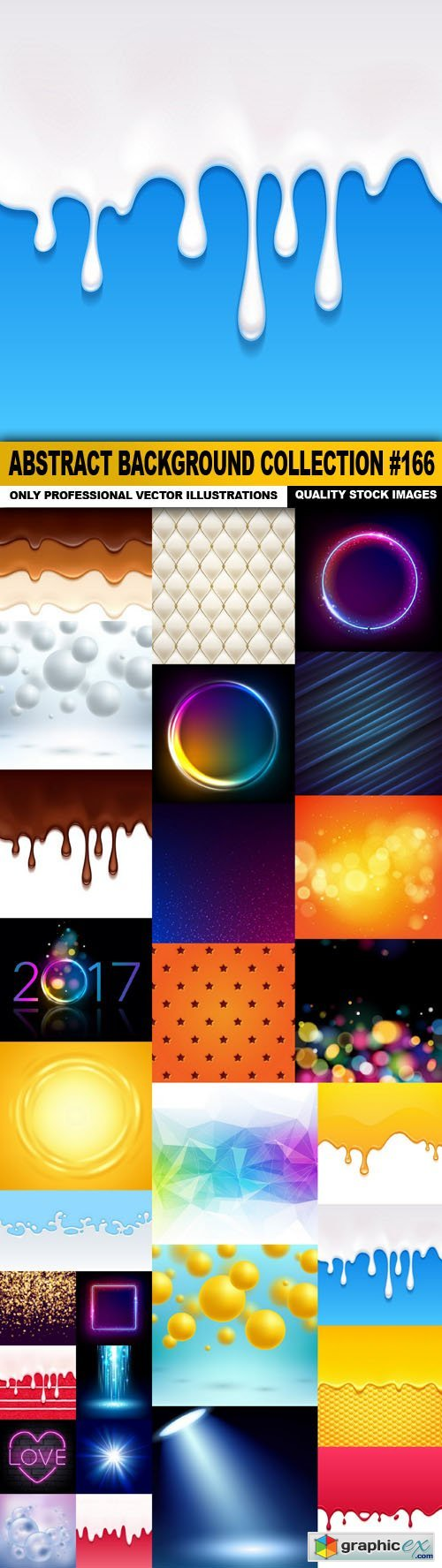 Abstract Background Collection #166 - 30 Vector