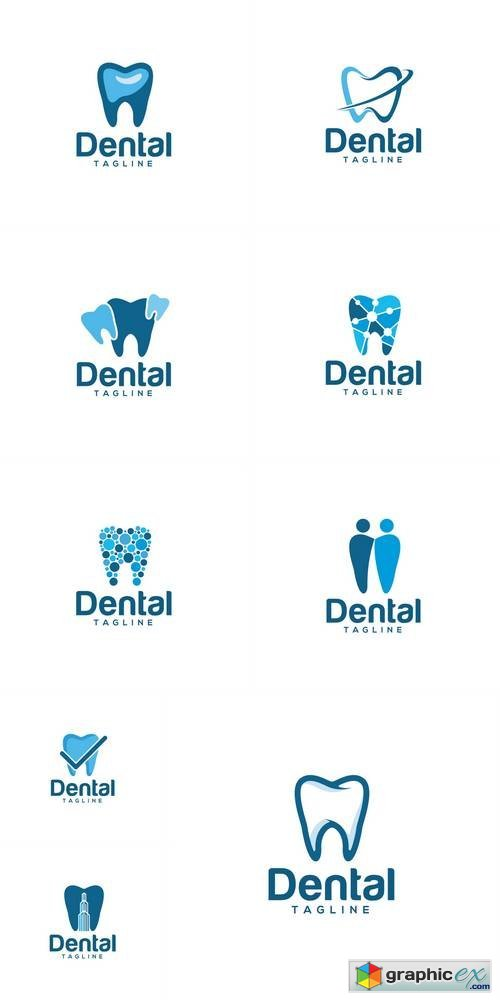 Dental Creative Logo Design