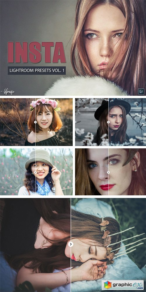 10 Insta Filter Lightroom Presets