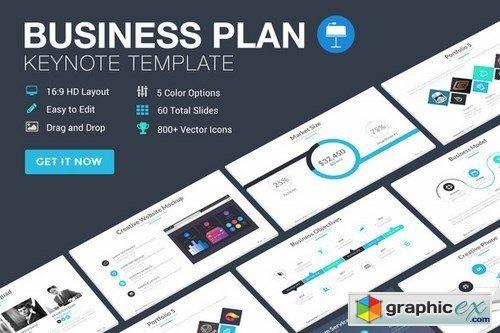 Business plan keynote template free download vector stock image business plan keynote template accmission Gallery