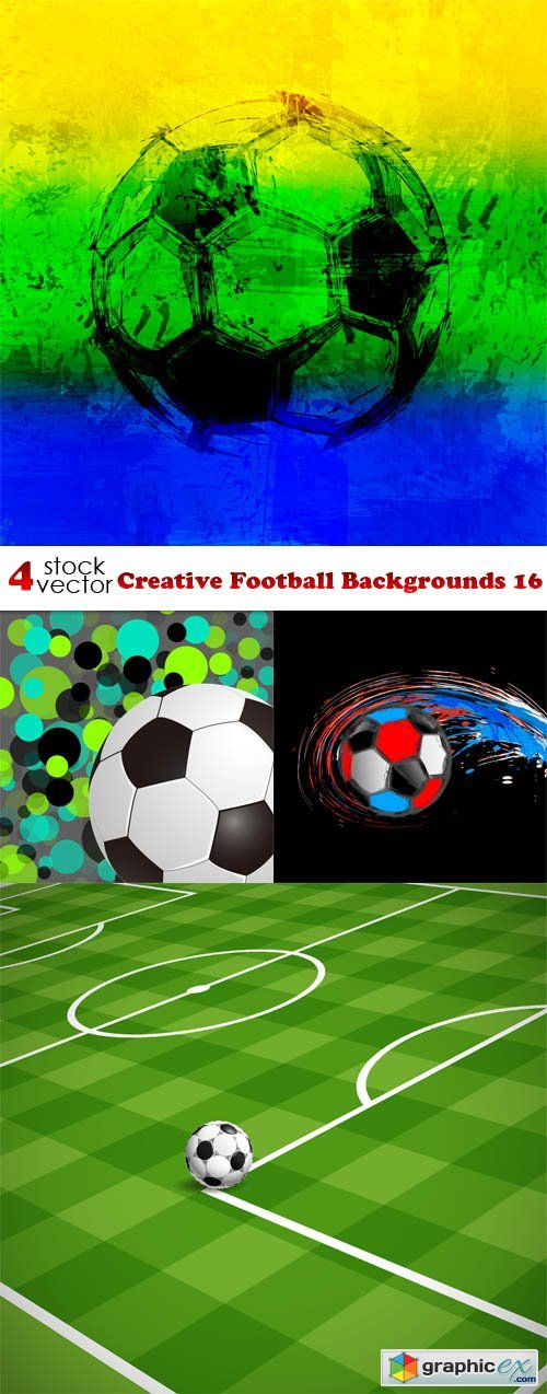 Creative Football Backgrounds 16