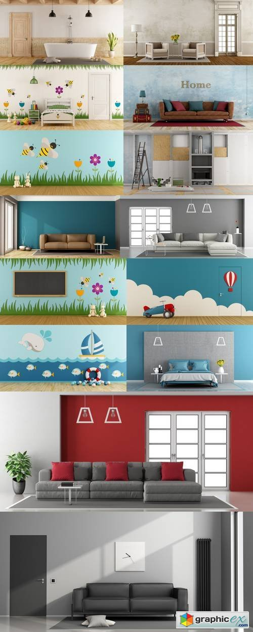Interior Backgrounds