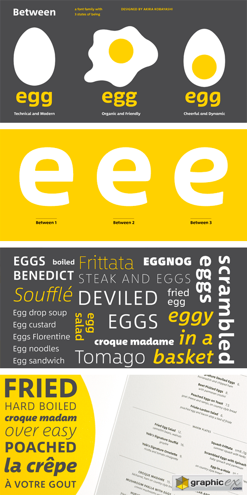 Between Font Family