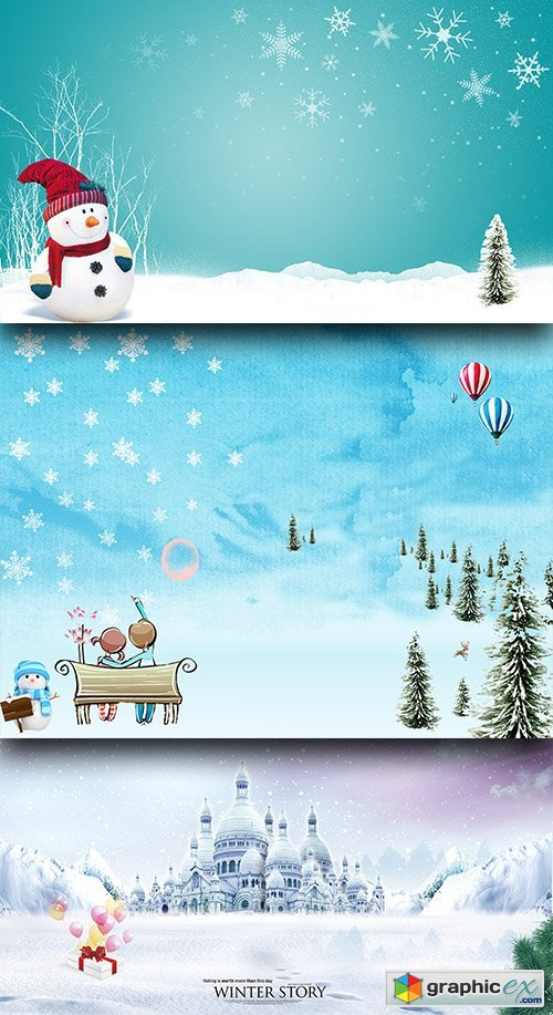 PSD Sources - Winter Story 2017 - 1