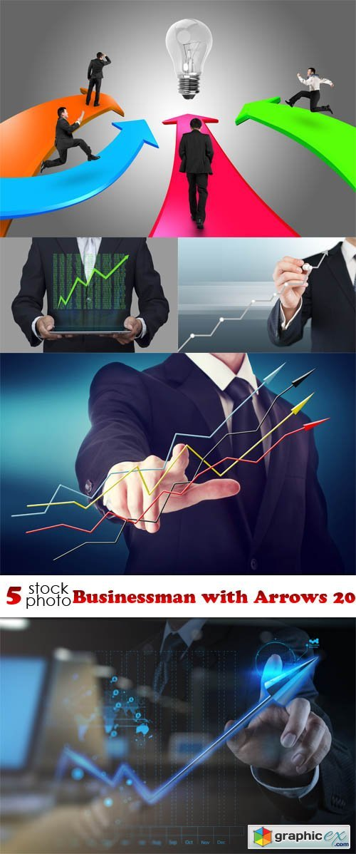Businessman with Arrows 20