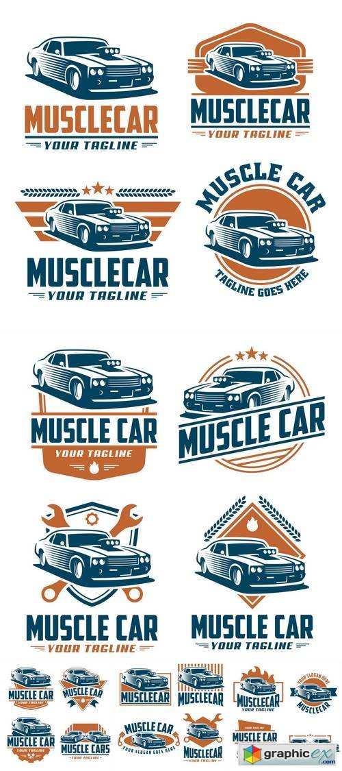 Muscle Car Logo Design