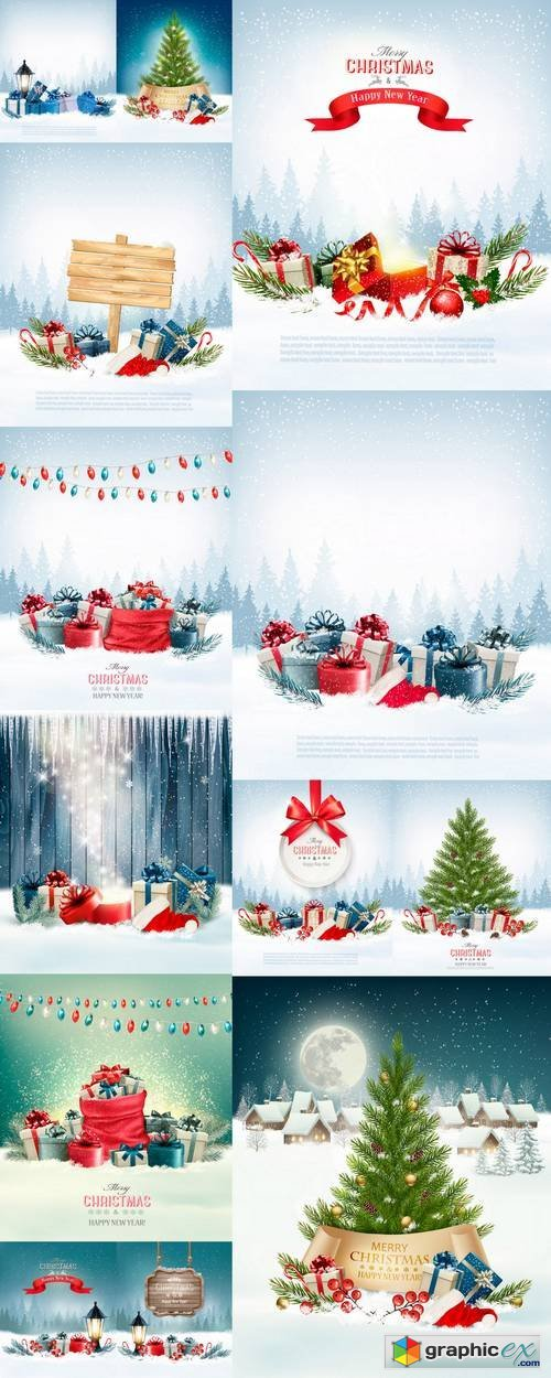 Holiday Christmas Background.Holiday Christmas Background Free Download Vector Stock