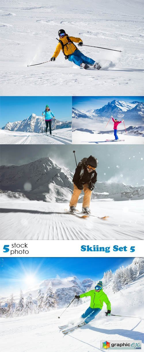 Skiing Set 5