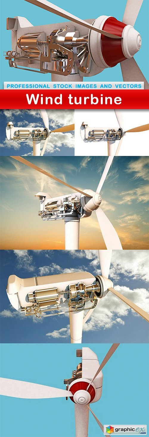 Wind turbine - 6 UHQ JPEG