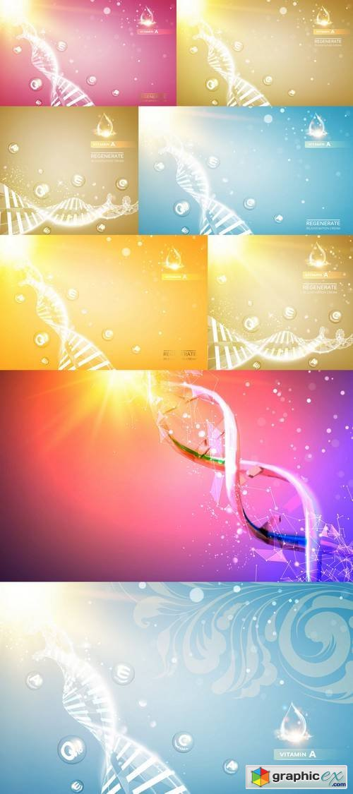 Abstract Background for Science Design
