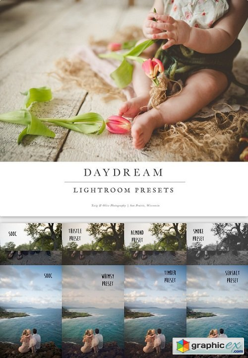Twig & Olive Photography - Daydream Lightroom Presets