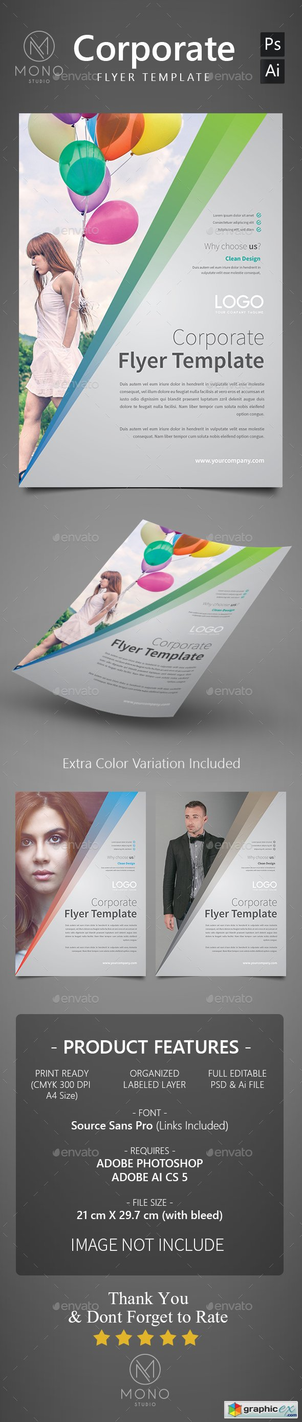 Corporate Flyer Template 8
