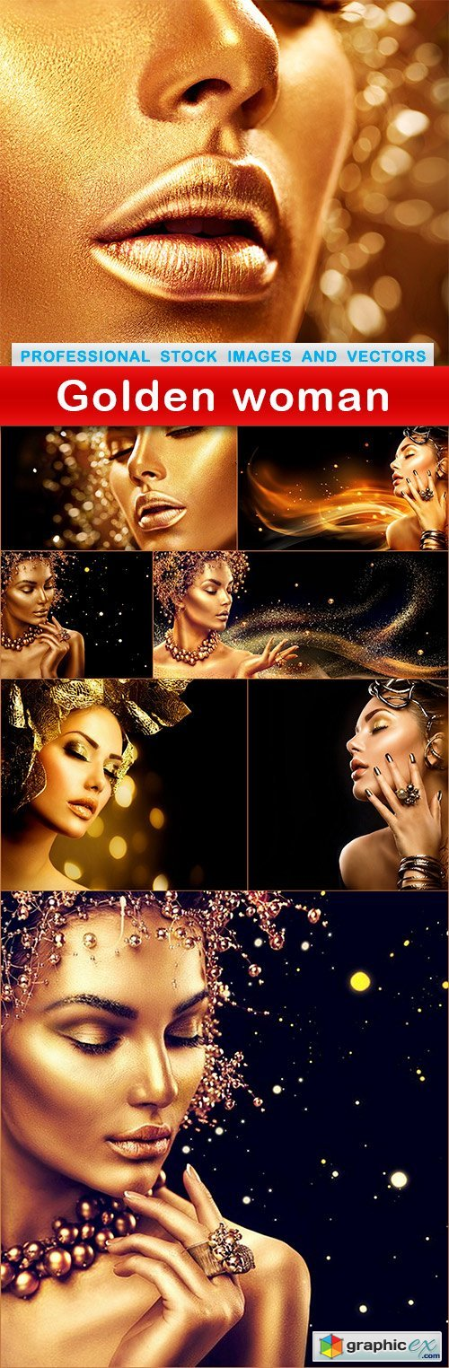 Golden woman - 8 UHQ JPEG