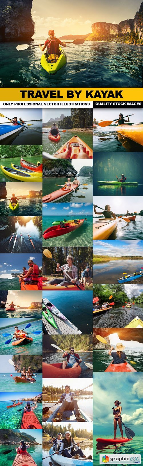 Travel By Kayak - 25 HQ Images