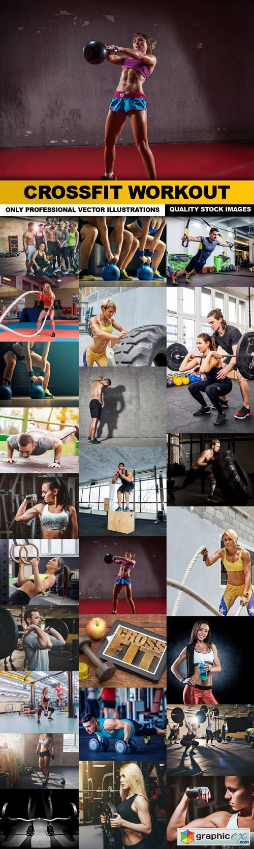 CrossFit Workout - 25 HQ Images