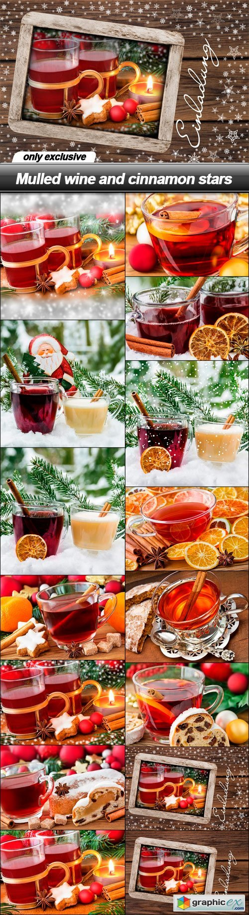 Mulled wine and cinnamon - 15 UHQ JPEG