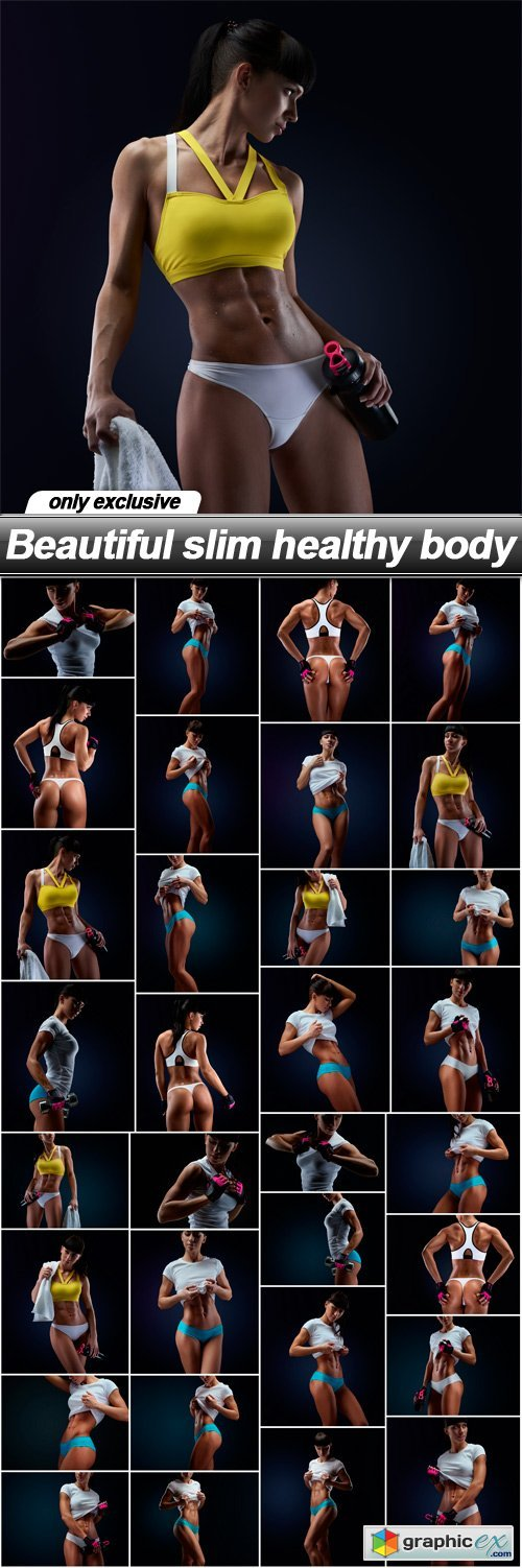 Beautiful slim healthy body - 32 UHQ JPEG