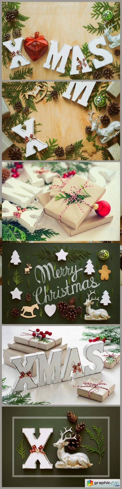Christmas greeting card 6X JPEG