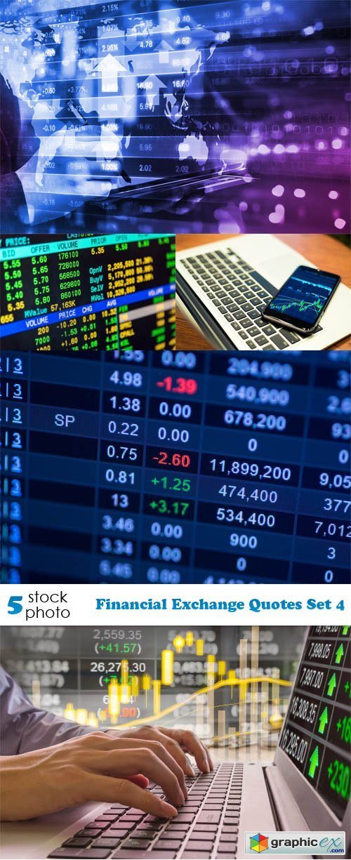 Financial Exchange Quotes Set 4