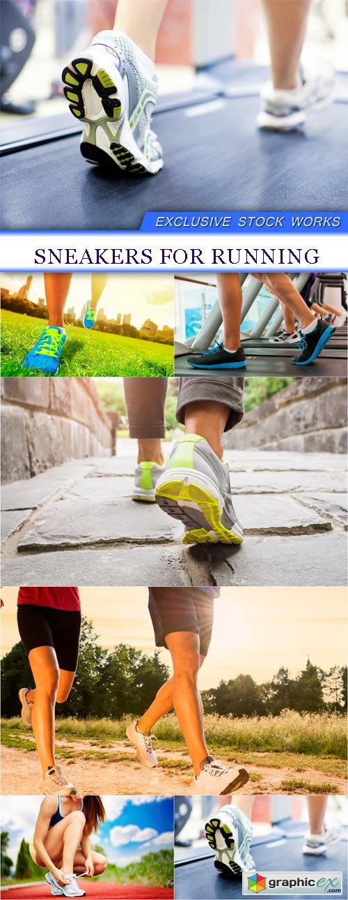 Sneakers for running 6X JPEG