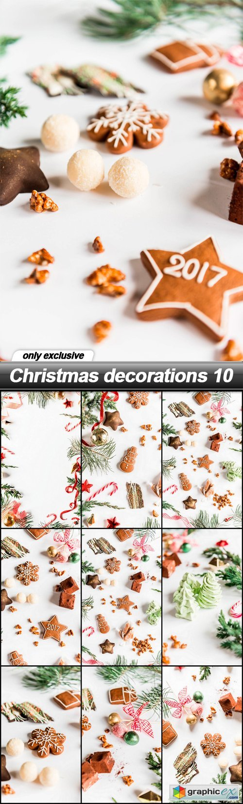 Christmas decorations 10 - 10 UHQ JPEG