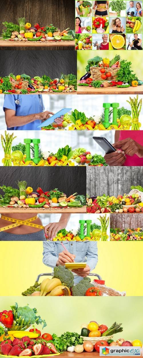 Vegetables and Fruits - Healthy Food