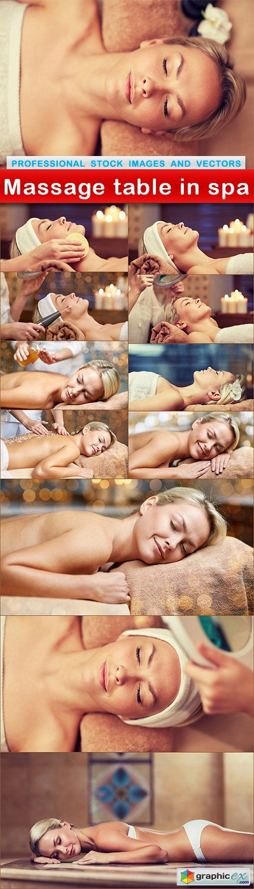 Massage table in spa - 12 UHQ JPEG