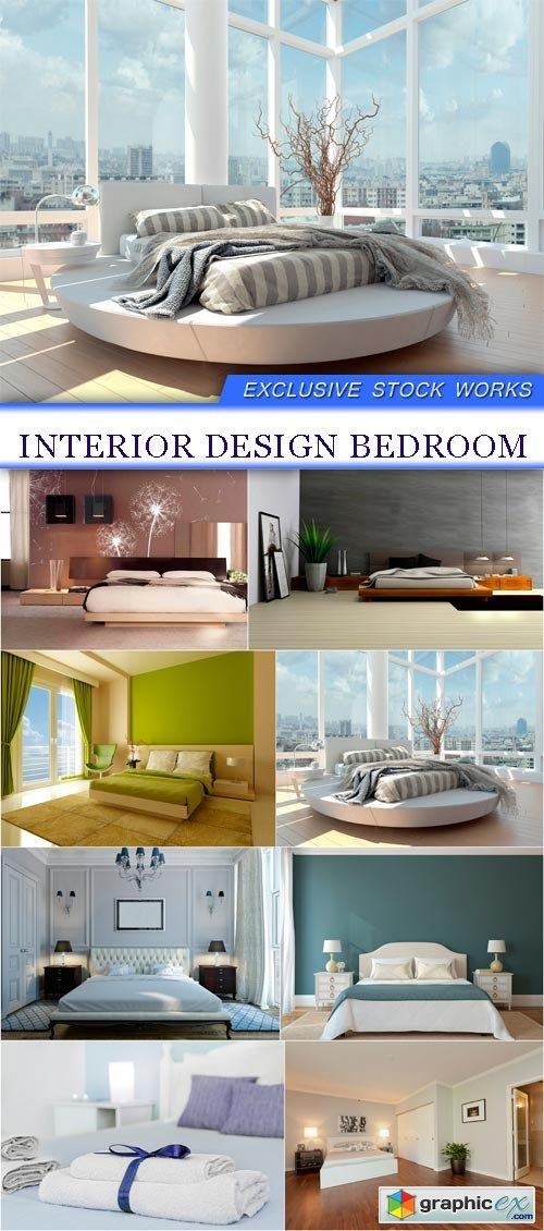 Interior design bedroom 8X JPEG